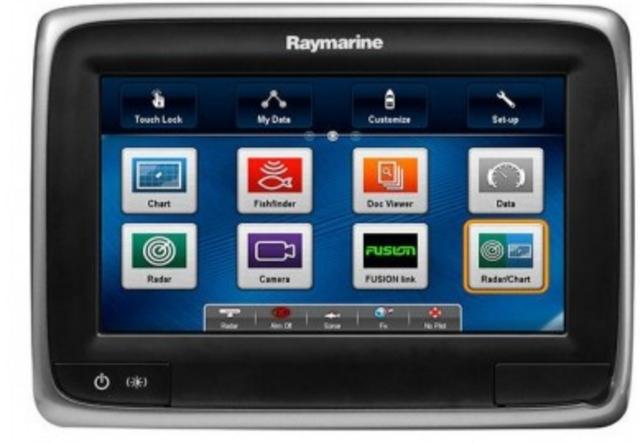 RAYMARINE A75 GPS PLOTTER WIFI - foto 1