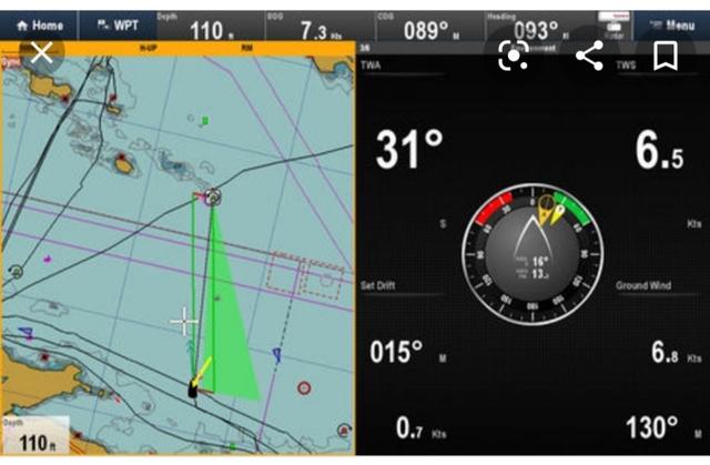 RAYMARINE A75 GPS PLOTTER WIFI - foto 6