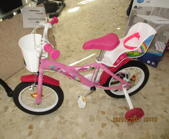 Bicicleta Niña Fantasy De 14 Pulgadas