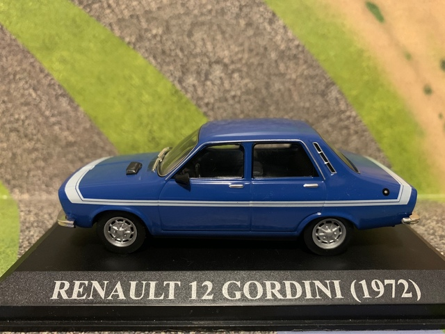 Renault 12 Gordini Escala 1/43 Altaya