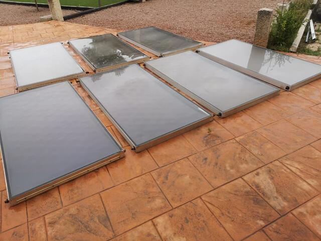 Caldera Y Placas Solares Térmicas