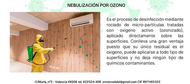 DESINFECCIONES COVID19 OZONO - foto 4