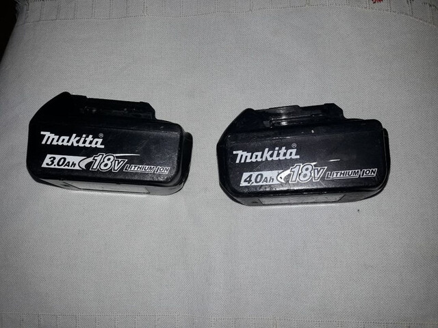 Makita Baterias.