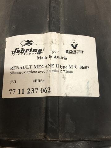 ESCAPE RENAULT MEGANE 2 - foto 2