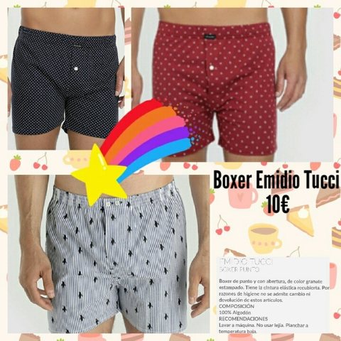 BOXER EMIDIO TUCCI - foto 1