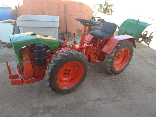 MOTOCULTOR PASQUALI 4 RUEDAS 18CC - foto 1