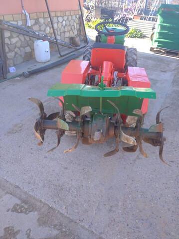 MOTOCULTOR PASQUALI 4 RUEDAS 18CC - foto 2