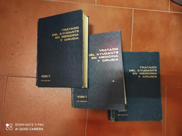 LIBROS ANTIGUOS ENFERMERIA - foto 1