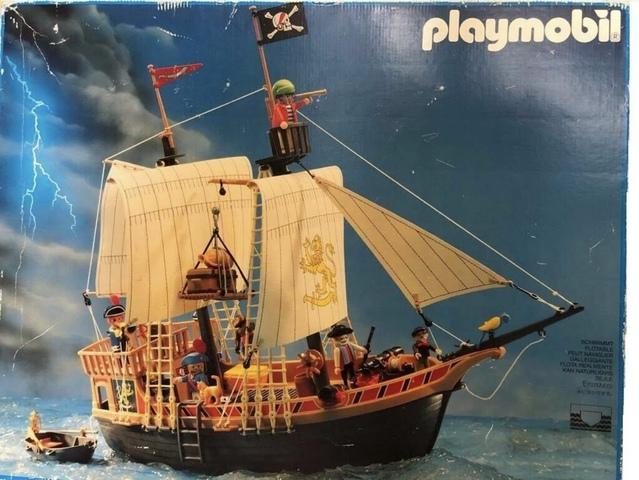 Barco Pirata Año 90