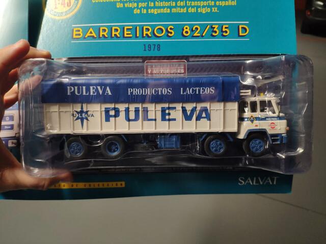 Camión Barreiros 82/35D. Lácteos Puleva