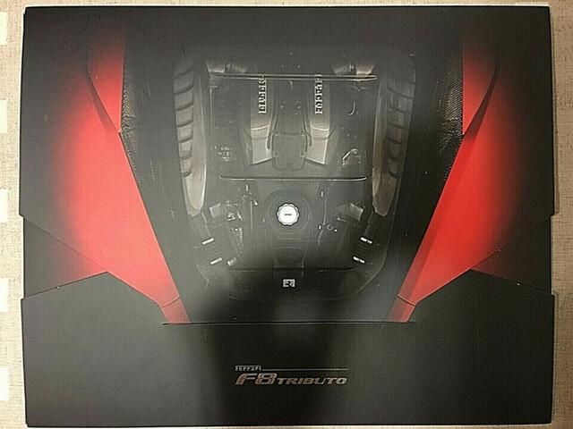 Ferrari F8 Tributo Litografia