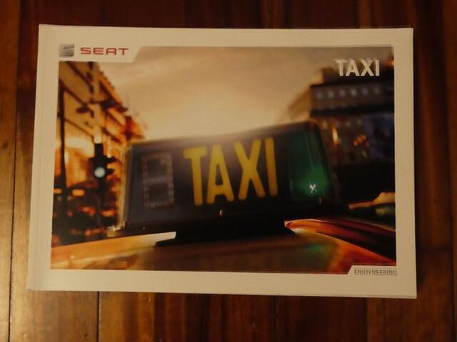 Catálogo Seat Taxi