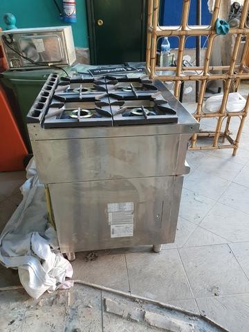 COCINA DE 4 FUEGOS Y HORNO DE GAS - foto 3