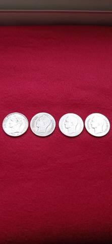 4 Monedas De Plata 2 Bolívares