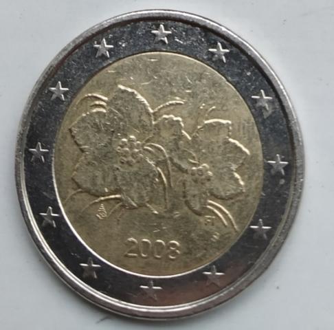 Monedas 2 Euros Finlandia 3° Serie 2008