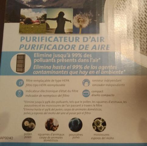 PURIFICADOR DE AIRE - foto 1