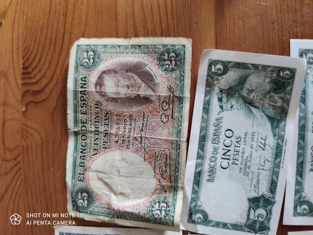 Lote De Monedas Y Billetes 100 Eur Tofo