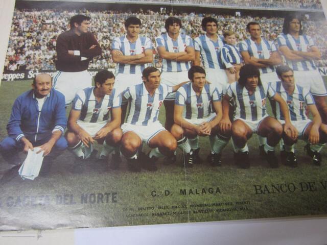 Poster Del Club Deportivo Malaga
