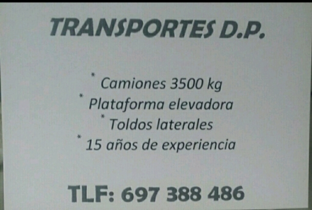 TRANSPORTES,  MUDANZAS Y VACIADO.  - foto 1