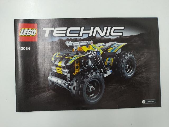LEGO TECNICH QUAD 42034 - foto 4