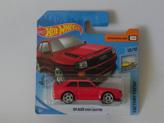 ´84 Audi Sport Quattro Hot Wheels