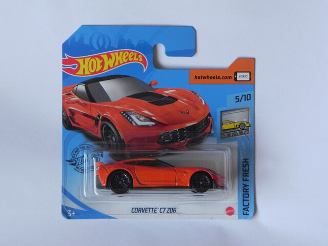 Corvette C7 Z06 Hot Wheels