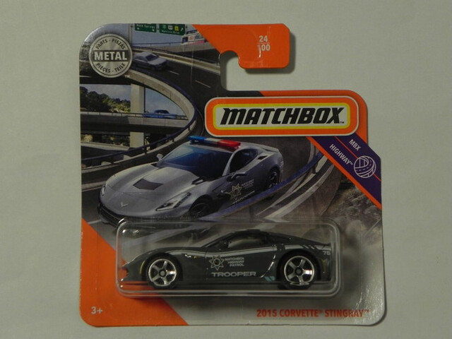 2015 Corvette Stingray Matchbox