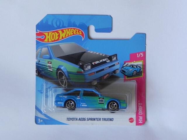 Toyota Ae86 Sprinter Trueno Hot Wheels