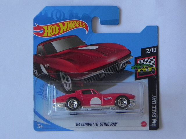 ´64 Corvette Sting Ray Hot Wheels