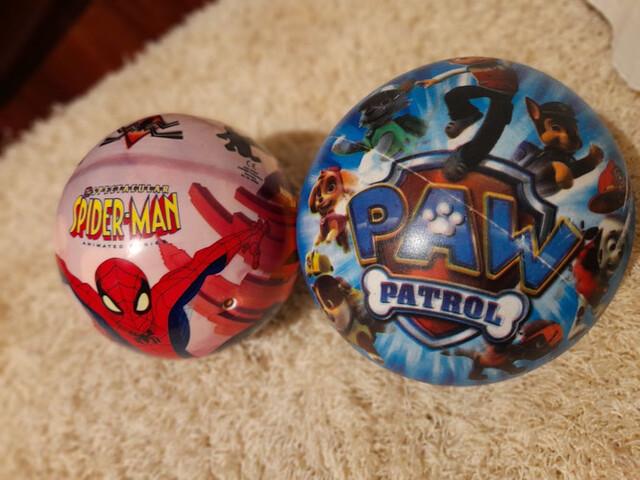 PELOTAS  SPIDER- MAN Y PATRULLA CANINA - foto 2