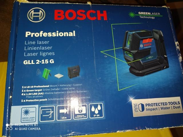 Vendo Nivel Laser Bosch Profecional