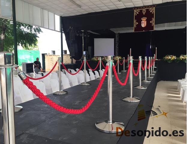 ALQUILER DE POSTES PARA EVENTOS - foto 1