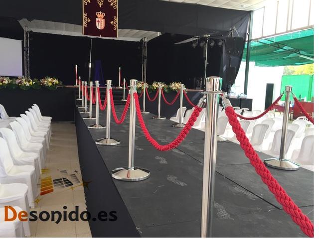 ALQUILER DE POSTES PARA EVENTOS - foto 2