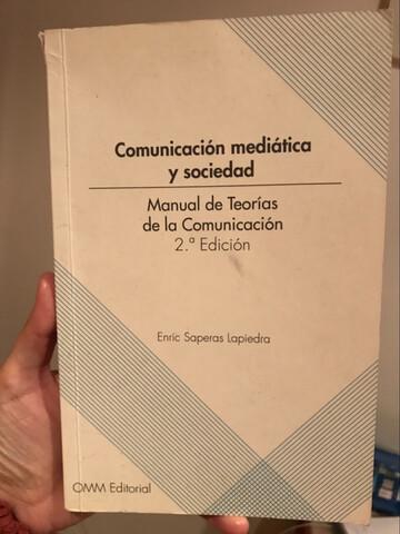 MANUAL TEORÍAS DE LA COMUNICACIÓN - foto 1