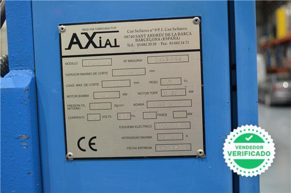 CIZALLA HIDRÁULICA CORTE PENDULAR AXIAL - foto 5