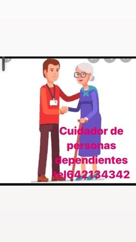 CUIDADOR DE PERSONAS DEPENDIENTES - foto 1