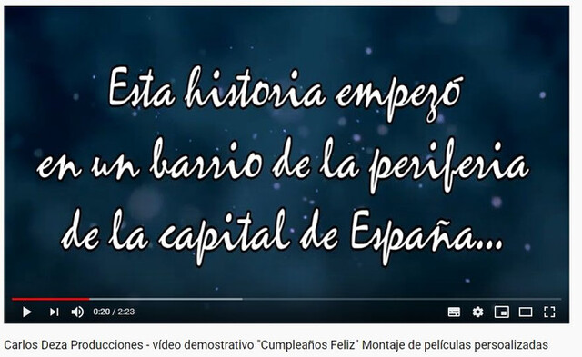 MONTAJE DE VÍDEOS ANIMADOS CON FOTOS - foto 1