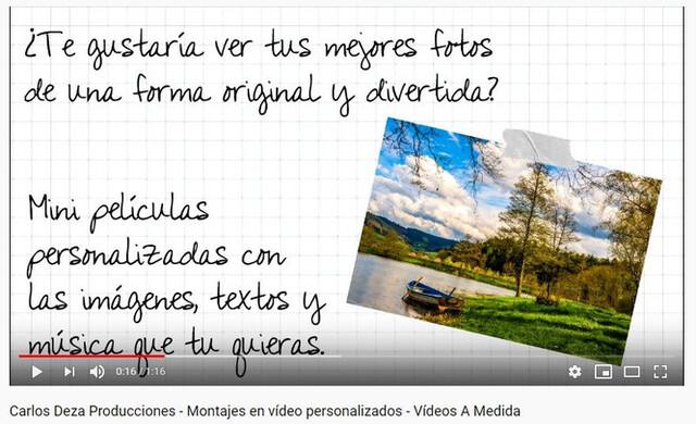 MONTAJE DE VÍDEOS ANIMADOS CON FOTOS - foto 3