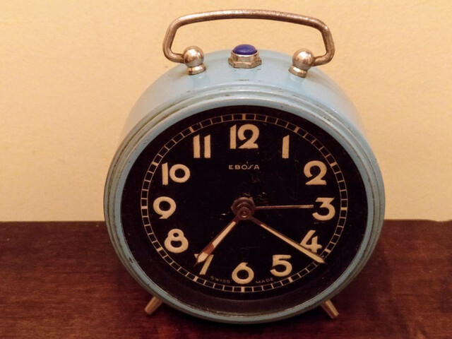 Reloj Despertador Ebosa.Suiza.1950