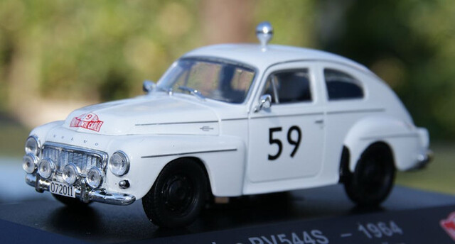 Volvo Pv544S Rallye De Montecarlo 1964 T