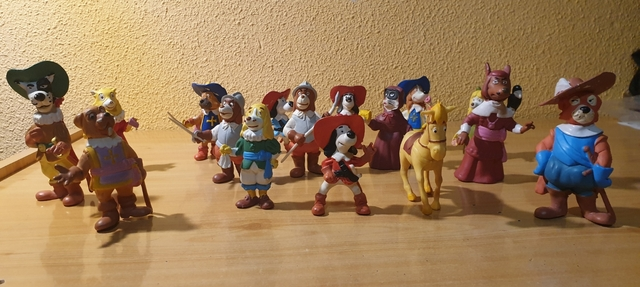 Colección Figuras Pvc Dartacan Star Toys