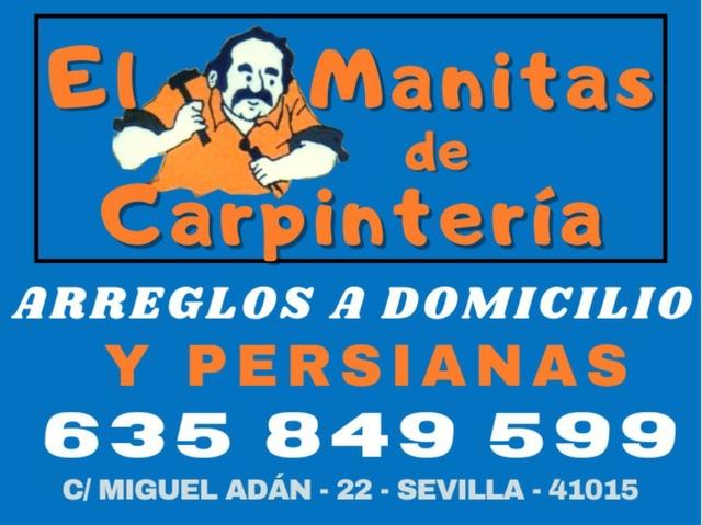 MANITAS A DOMICILIO ZONA ALJARAFE - foto 1