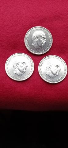 3 Monedas Plata Franco