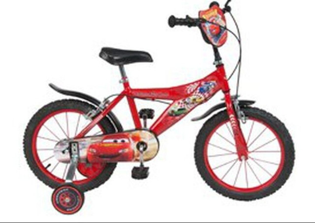 Bicicleta Cars Niño,  A Partir De 3 Años.