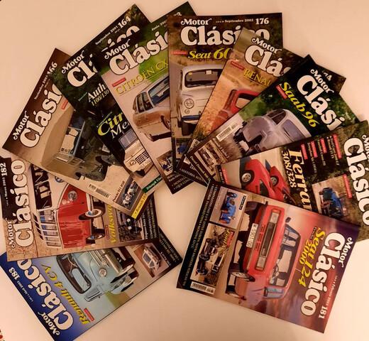 Revistas Motor Clasico