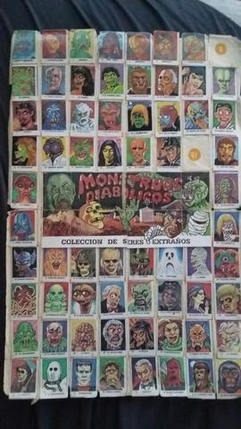 Album Monstruos 80S