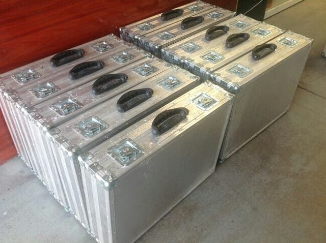 Maleta Aluminio Profesional Flight Cases