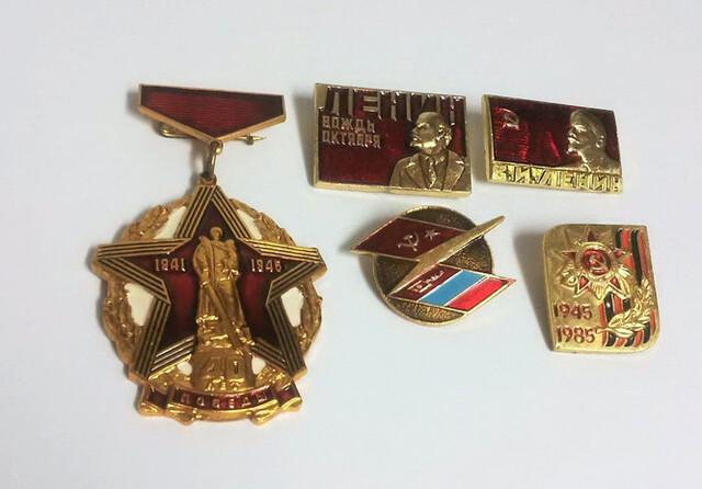 Insignias Epoca Sovietica. Rusia