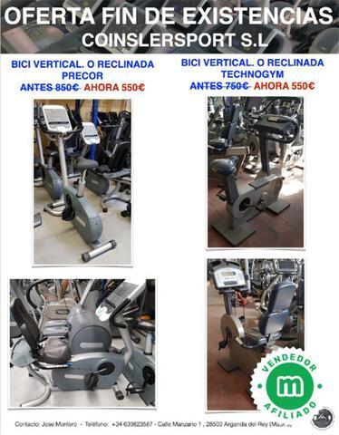BICI RECLINADA VERTICAL TECHNOGYM PRECOR - foto 1