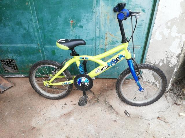 Bicicleta Orbea Llanta 14 Amarilla